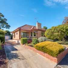 Rental info for Beautiful Updated Character Home in the Adelaide area