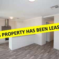 Rental info for THIS PROPERTY HAS BEEN LEASED in the Perth area