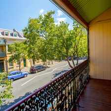 Rental info for Three Bedroom Terrace SATURDAY INSPECTION CANCELLED in the Millers Point area