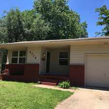 Rental info for 3713 Parkwoods Lane in the Midwest City area