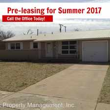 Rental info for 4615 43rd Street in the Lubbock area