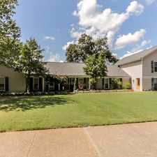 Rental info for Amazing 6BR Germantown Home on 1.3 Acres with Resort Style Backyard! 1321 Riverdale Road in the Memphis area