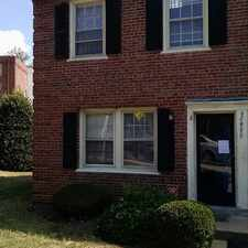 Rental info for 2006 37th Street Southeast #A in the Fort Dupont area