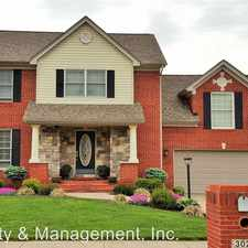 Rental info for 3024 Elisa Ct. in the New Albany area