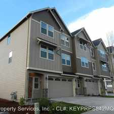 Rental info for 4118 SE 177th Lane in the Portland area