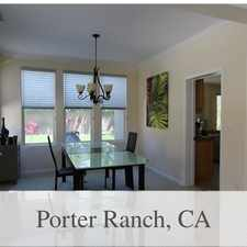 Rental info for House In Quiet Area, Spacious With Big Kitchen in the Porter Ranch area