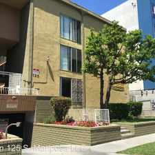 Rental info for 125 S. Mariposa Ave. 17 in the Los Angeles area