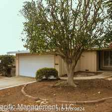 Rental info for 1514 2nd Street in the 90266 area