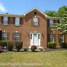Rental info for 13706 Primrose Court in the Bowie area