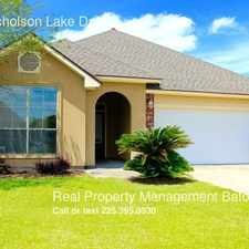Rental info for 2914 Nicholson Lake Dr. in the Baton Rouge area