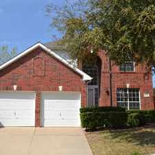 Rental info for 9809 Hickory Hollow Lane in the Irving area