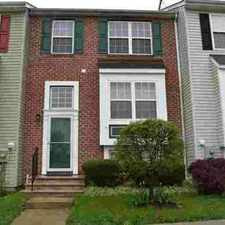 Rental info for 5666 Joseph CT New Market Three BR, Great townhouse close to