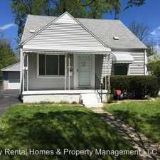Rental info for 714 Leland St. in the 48529 area