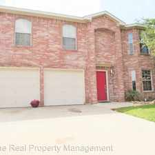 Rental info for 8405 Three Bars Dr. in the Fort Worth area