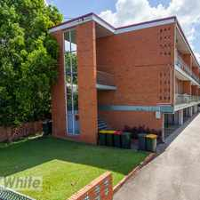 Rental info for FRESH UNIT WITH LARGE OPEN LIVING in the Brisbane area