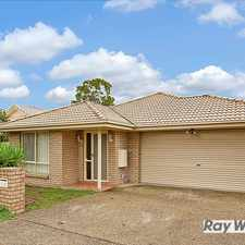 Rental info for SPACIOUS 4 BEDROOM HOME, 2 LIVING ROOMS + STUDY in the Greenbank area