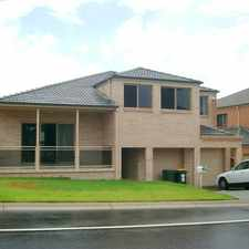 Rental info for LARGE SPLIT LEVEL FAMILY HOME ...6 bedrooms, 3 living areas. Clubhouse, pool & tennis court use. in the Kellyville Ridge area