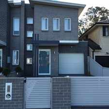 Rental info for Brand New 5 Bedda in the Sydney area