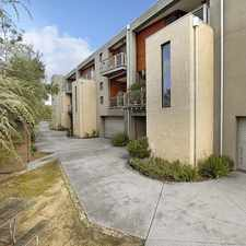 Rental info for TOWNHOUSE WITH 4 CAR GARAGE. in the Melbourne area