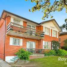 Rental info for Good size 2 bedroom unit located close to all amenities in the Sydney area