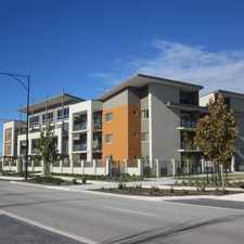 Rental info for Apartment Living in the Perth area