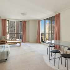 Rental info for A Spacious 84 Square Metre One Bedroom Apartment with Excellent Communal Facilities in the Sydney area