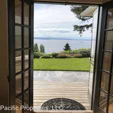 Rental info for 6529 49th Ave SW in the Seaview area