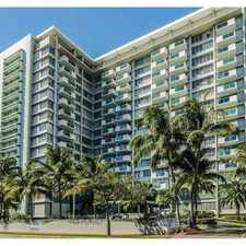 Rental info for 1000 West Avenue #522 in the Miami area