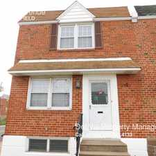 Rental info for 7151 Brous Avenue in the Mayfair area