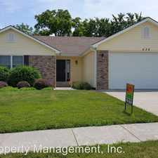 Rental info for 532 Harland Dr