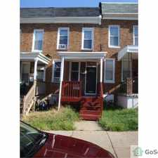 Rental info for 2Br + DEN Town home in a GREAT Location off corner Belair Rd and North Ave! in the 4X4 area