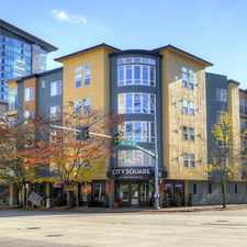 Rental info for City Square Bellevue