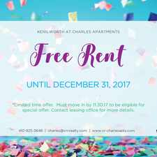 Rental info for Kenilworth at Charles