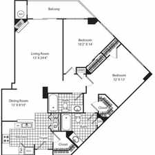 Rental info for $7320 2 bedroom Apartment in Arlington in the Washington D.C. area