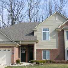 Rental info for 3599 Eagle Creek in the Sterling Heights area