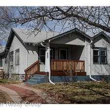 Rental info for 2209 S Humboldt St in the University area