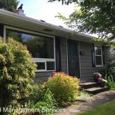 Rental info for 7127 N Syracuse St in the Cathedral Park area