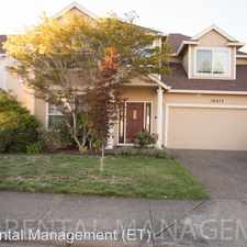 Rental info for 16617 NW Avondale Drive