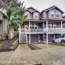 Rental info for 3605 NE 14th Ave. Unit B in the Sabin area