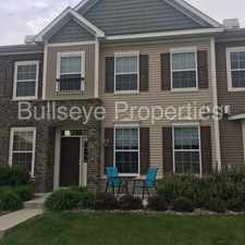 Rental info for Impressive Townhouse - Schedule a showing today! in the Maple Grove area