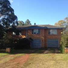 Rental info for Huge Family Home in the Mount Lofty area