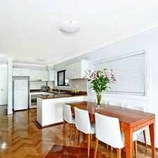 Rental info for STYLISH & SUN FILLED COASTAL LIVING - EXCLUSIVE SETTING! in the Sydney area