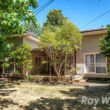 Rental info for LARGE THREE BEDROOM FAMILY HOME in the Ringwood area