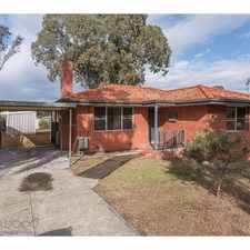 Rental info for A HIGHER PERSPECTIVE in the Perth area