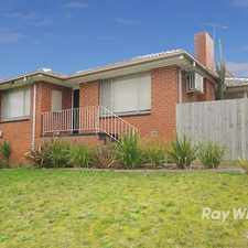 Rental info for A Family Home! in the Noble Park North area
