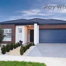 Rental info for Perfectly designed for the growing family in the Point Cook area