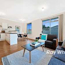 Rental info for Low Maintenance Modern Lifestyle! in the Parafield Gardens area