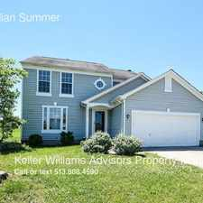 Rental info for 8212 Indian Summer