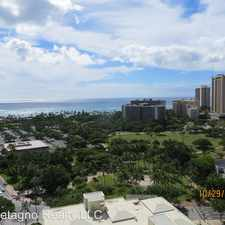 Rental info for 2092 Kuhio Ave. #1202