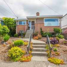 Rental info for RARE Opportunity to Live in Beautiful SEAVIEW in West Seattle!! in the Seaview area